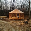 Camp Tuckaho Yurt Construction